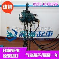 NRE-1000氣動鏈式葫蘆【防爆功能】化工車間專用設備